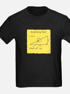 Simplifying Math T-Shirt