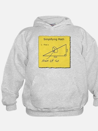 Simplifying Math Hoodie