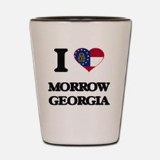 I love Morrow Georgia Shot Glass