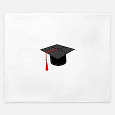 Graduation Cap King Duvet