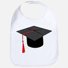Graduation Cap Bib