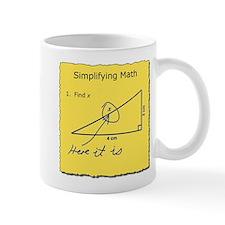 Simplifying Math Mugs