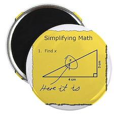 Simplifying Math Magnets