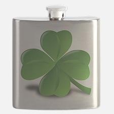 4 Leaf Clover Flask