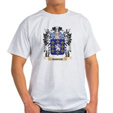 Barker Coat of Arms - Family Cr T-Shirt
