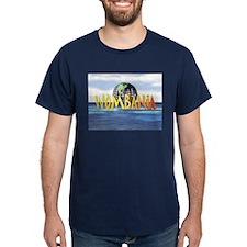 Wombania World Logo T-Shirt Dark Colored