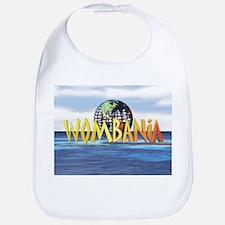 Wombania World Logo Bib