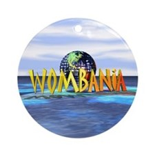 Wombania World Logo Ornament (Round)