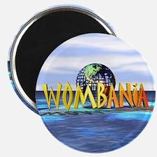 Wombania World Logo Magnet