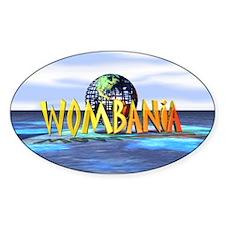 Wombania World Logo Oval Decal