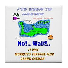 Funny Club Tile Coaster