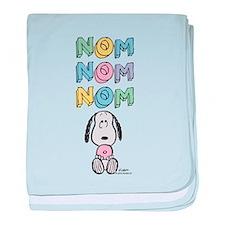 Snoopy - NomNomNom baby blanket