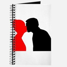 Kissing Couple Journal