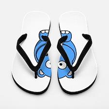 Baby Hippo Flip Flops
