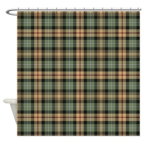 htg brn shower curtain