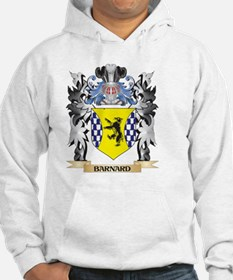 Barnard Coat of Arms - Family Cr Hoodie