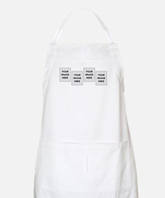 CUSTOM Four Photo Apron