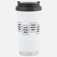 CUSTOM Four Photo Travel Mug