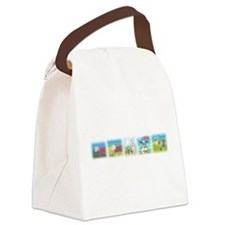 A Wool Sweater Canvas Lunch Bag