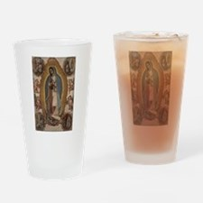 Virgin of Guadalupe. Drinking Glass