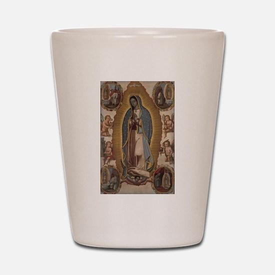 Virgin of Guadalupe. Shot Glass