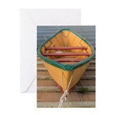 Atlantic Dory Greeting Cards