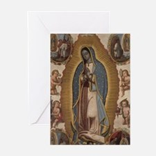 Virgin of Guadalupe. Greeting Cards