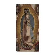 Virgin of Guadalupe. Beach Towel