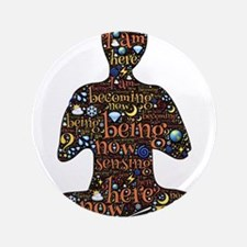 "Meditation 3.5"" Button (100 pack)"