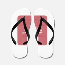 Love Sign Language Flip Flops