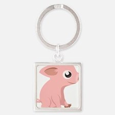Baby Pig Keychains