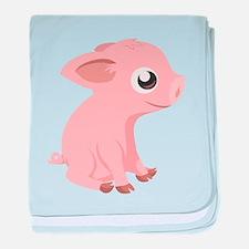 Baby Pig baby blanket