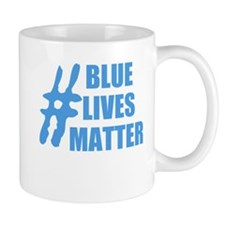 BLUE LIVES MATTEr Mugs
