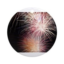 Firework Spark Ornament (Round)