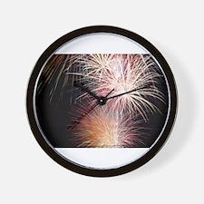 Firework Spark Wall Clock