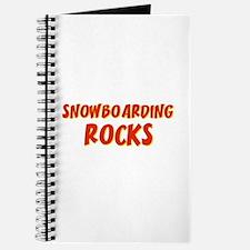 Snowboarding Rocks Journal
