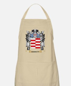 Barrett Coat of Arms - Family Crest Apron