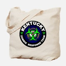 Kentcuky Zombie Response Team White Tote Bag