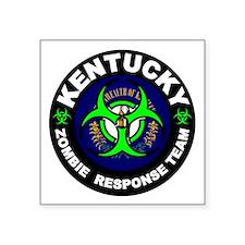 Kentcuky Zombie Response Team White Sticker