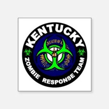 Kentcuky Zombie Response Team White Sticker