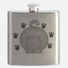 Cat Paws Flask