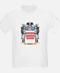 Barry Coat of Arms - Family Crest T-Shirt