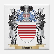 Barry Coat of Arms - Family Crest Tile Coaster