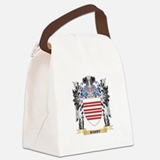 Barry Coat of Arms - Family Crest Canvas Lunch Bag