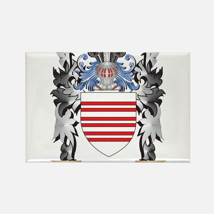 Barry Coat of Arms - Family Crest Magnets