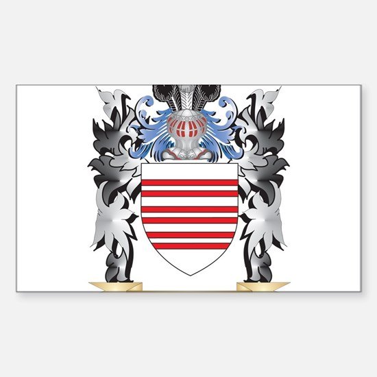 Barry Coat of Arms - Family Crest Decal