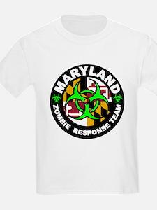 Maryland Zombie Response Team Green T-Shirt