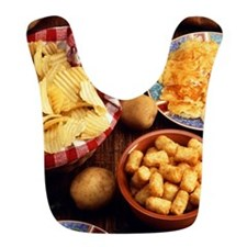Potato Foods Bib