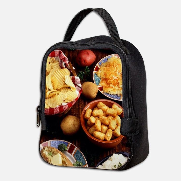 Potato Foods Neoprene Lunch Bag