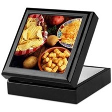 Potato Foods Keepsake Box
